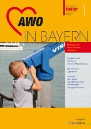 Geschäftsstellen des SoVD in Bayern - AWO Oberbayern eV
