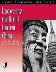 Ancient China Story Sampler - Reading Is Fundamental