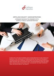 oPPland county administration - Software Innovation