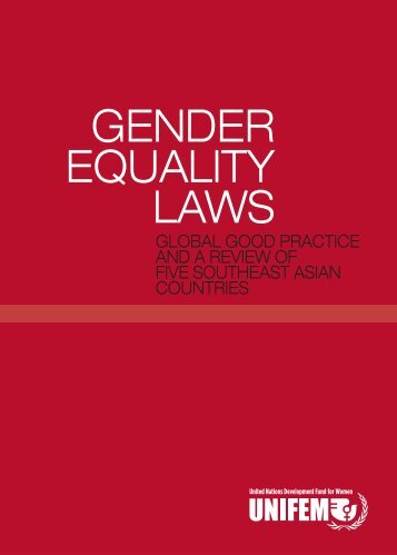 Gender Equality Laws - CEDAW Southeast Asia