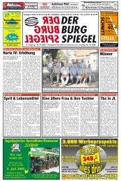 Thilo Karbe berät Sie gerne Telefon - Der BurgSpiegel / Der Genthiner