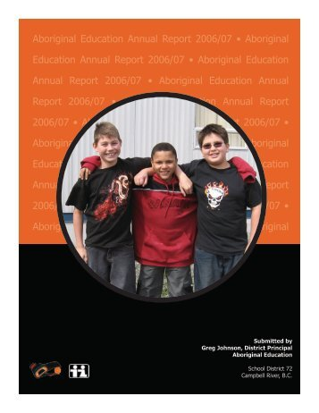 2006-2007 SD72 Aboriginal Education Annual Report