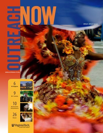 2012–2013 Issue - Outreach & International Affairs - Virginia Tech
