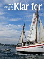 Tilbake etter 45 år i USA - SailingNetworks