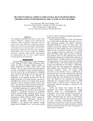 multifunctional vehicle structural health monitoring opportunities with ...
