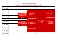 Master 2 Développement Emploi du temps de la semaine du 20 au ...