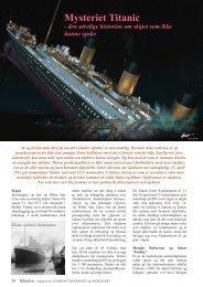 Mysteriet Titanic - Ildsjelen