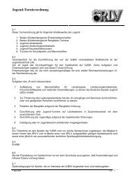 3.6.1 Jugendturnierordnung - Squash Rackets Landesverband ...