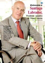 Entrevista a Santiago Labrador presidente de Vision ... - TAT Revista