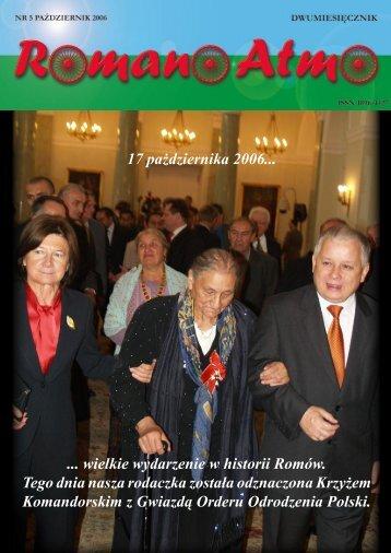 Romano Atmo nr5 - Związek Romów Polskich w Szczecinku