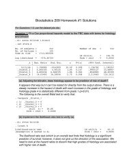 Biostatistics 209 Homework #1 Solutions