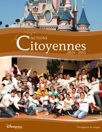 actions - Euro Disney SCA - Disneyland® Paris
