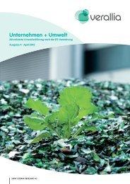 Unternehmen + Umwelt - Saint-Gobain Oberland AG