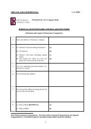 Personal Questionnaire and Declaration (PQD) - Central Bank of ...