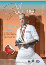 Marching Ahead - The Emirates Culinary Guild
