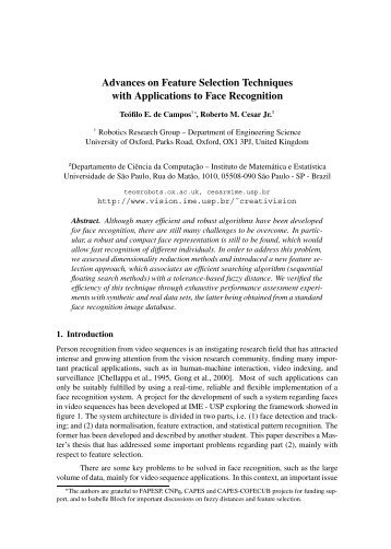 Short Paper Robotics Research Group University Of Oxford