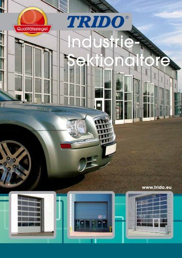 Industrietore Prospekt - Garážová vrata Trido