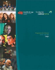 La programación en pdf - Concello de Lugo