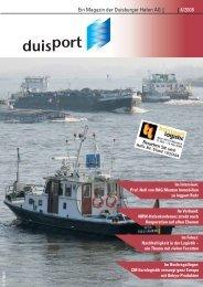 Ein Magazin der Duisburger Hafen AG 4/2008 - Duisport