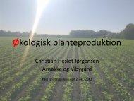 Oplæg Kalø landbrugsskole 2. okt 2012 Christian Jørgensen