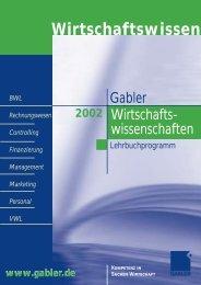 8.Marketing / Absatz - Springer Gabler