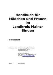 Handbuch für Mädchen und Frauen im Landkreis Mainz