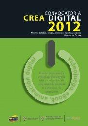 crea digital 2012 - Ministerio de Cultura