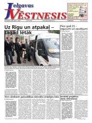 2009. gada 7. maijs. Nr.18(102) - Jelgavas Vēstnesis