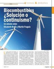 Biocombustibles ¿Solución o continuismo? - Revista Perspectiva