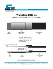Weld End Transition Fitting - Rangeland Oilfield Inc.