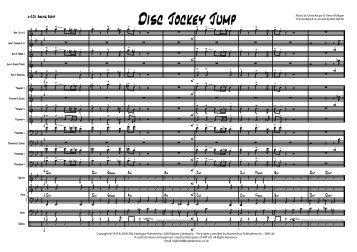 Disc Jockey Jump Published Score - Lush Life Music