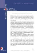"No.1r Cercetări în transporturi - ""Intersections"" International Journal - Page 6"