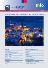 Informationsbroschüre 2012/3 (PDF) - Gemeinde Eschen-Nendeln