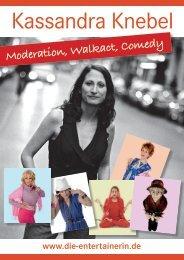 Moderation, Walkact, Comedy - Die-Entertainerin.de