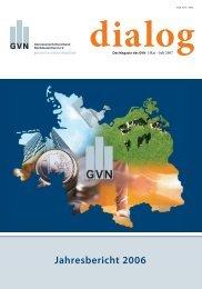 Jahresbericht 2006 - Genossenschaftsverband eV
