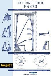 Falcon Spider FS370 Narrow Access Equipment - Facelift