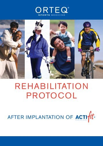 English rehab booklet - Orteq