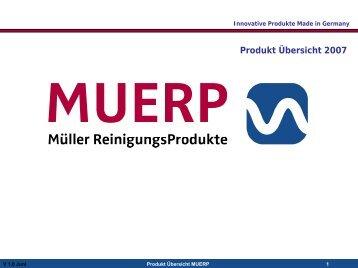 Produkt Katalog MUERP - digital & fun