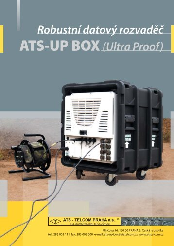 ATS-UP BOX - ATS-TELCOM PRAHA as