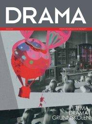 tema: drama i grunnskolen - Landslaget drama i skolen