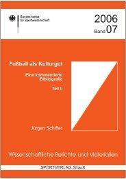 Inhaltsverzeichnis, Einleitung - Fussball Kultur
