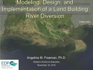 Modeling, Design, and Implementation of a Land Building River ...
