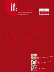 if:sommer 2010 - Frauenreferat