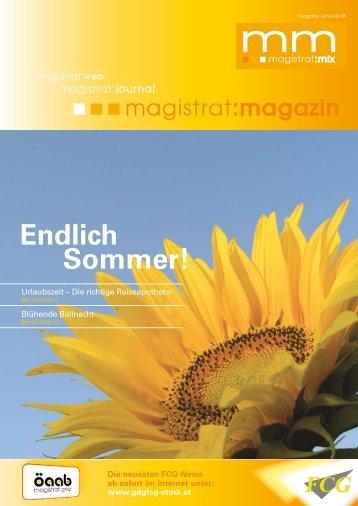Endlich Sommer! - Gewerkschaft der Gemeindebediensteten