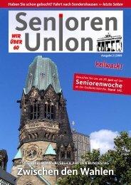Ausgabe herunterladen - Seniorenunion Berlin