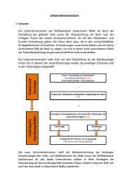 Unternehmensvision.PDF - Raiffeisenbank Südstormarn Mölln eG
