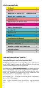 Notizen - Volkshochschule Kappeln - Seite 2
