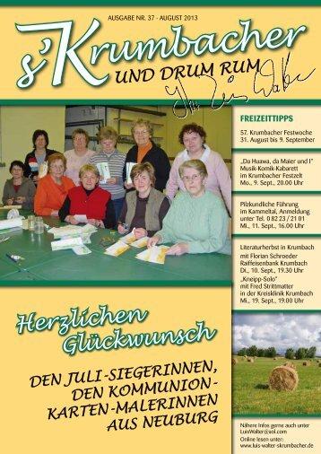 Heft 37 - August 2013