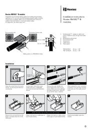 Installation instructions Roxtec RM BG™ B modules