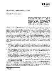 3º Termo Aditivo Contrato 15/1997 - Aneel